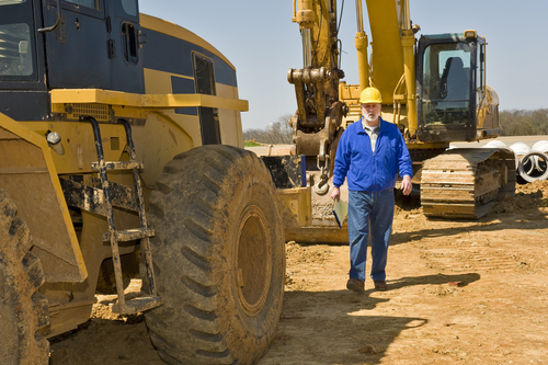 heavy equipment, debt diversification, small business owner